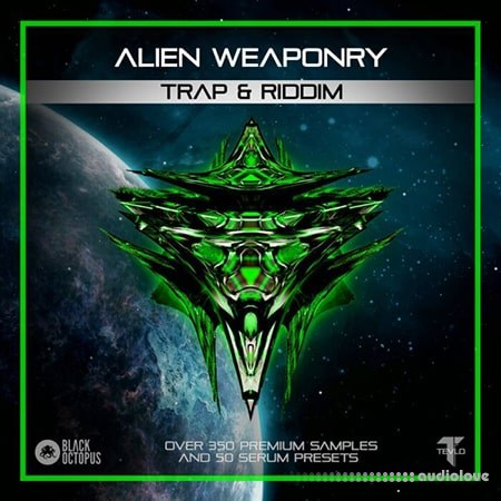 Black Octopus Sound Alien Weaponry Trap And Riddim WAV Synth Presets