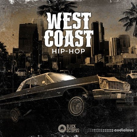 Black Octopus West Coast Hip Hop WAV MiDi