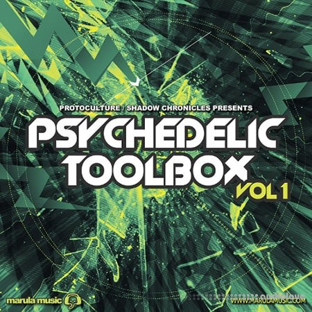 Black Octopus Sound Psychedelic Toolbox Volume 1 WAV Synth Presets