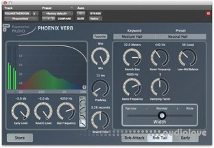 Exponential Audio PhoenixVerb Stereo Reverb