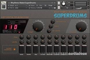 Rhythmic Robot Audio SuperDrums