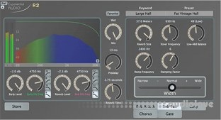 Exponential Audio R2 Stereo Reverb