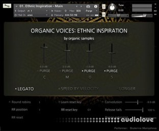 Organic Samples Organic Voices Volume 2 Ethnic Inspiration