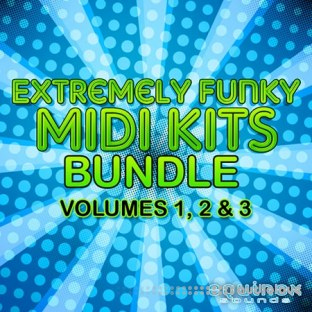 Equinox Sounds Extremely Funky MIDI Kits Bundle Vol.1-3