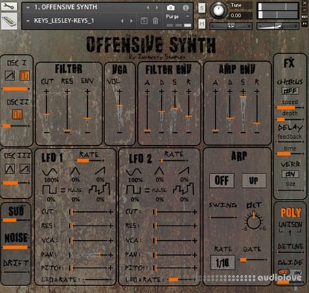 Insanity Samples Offensive Synth KONTAKT