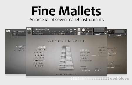 Cinematique Instruments Fine Mallets KONTAKT
