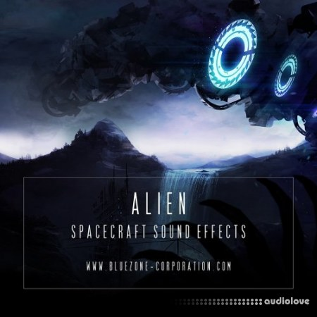Bluezone Corporation Alien Spacecraft Sound Effects WAV
