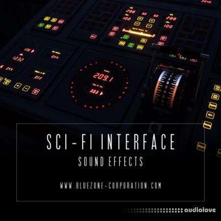 Bluezone Corporation Sci-Fi Interface Sound Effects