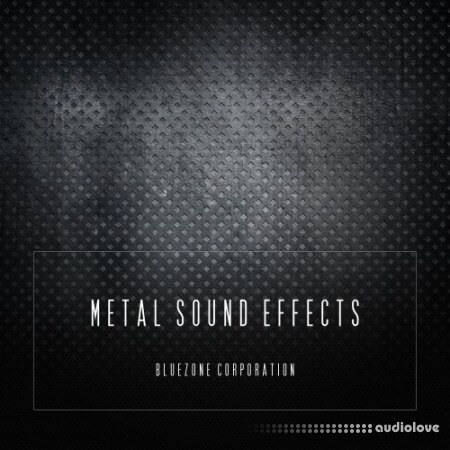 Bluezone Corporation Metal Sound Effects WAV AiFF