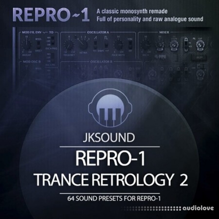 JK Sounds Trance Retrology Vol.2 Synth Presets