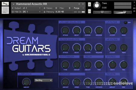 Dream Audio Tools Dream Guitars KONTAKT