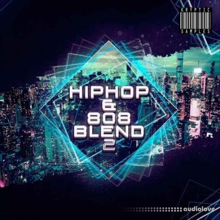 Kryptic Samples Hip Hop and 808 Blend 2 WAV MiDi