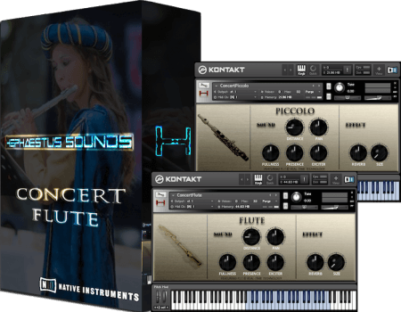 Hephaestus Sounds Concert Flute 2nd Concept v2.01 KONTAKT