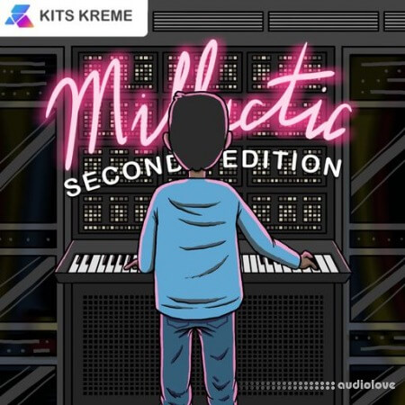 Kits Kreme Millactic Vol.2 Retro Analog Sounds WAV