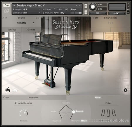 e-instruments Session Keys Grand Y v1.2 KONTAKT