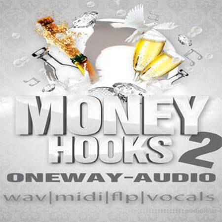 Oneway Audio Money Hooks 2 WAV MiDi DAW Templates