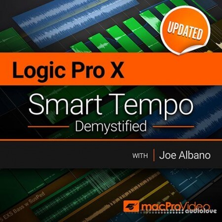 MacProVideo LOGIC PRO X 10.4.2 301 Smart Tempo Demystified TUTORiAL UPDATE