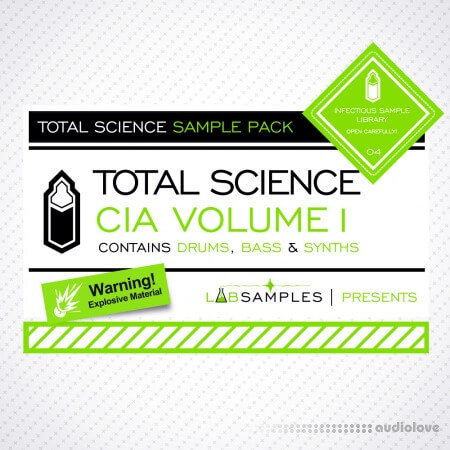 Labsamples Total Science CIA Drum and Bass Vol.1 MULTiFORMAT