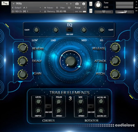 TH Studio Production Trailer Elements Vol.3 KONTAKT WAV