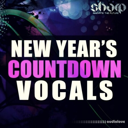 Function Loops New Years CountDown Vocals WAV MiDi Synth Presets
