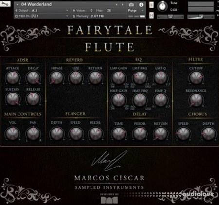 Marcos Ciscar Fairytale Flute KONTAKT