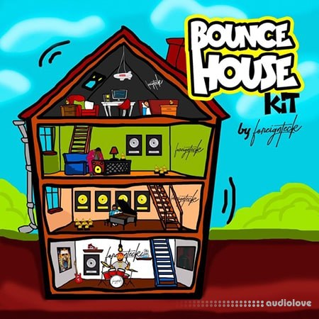 Foreign Teck Presents Bounce House Drum Kit WAV