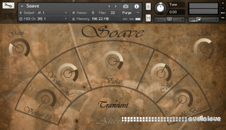 ImagikSound Soave Sordino Strings KONTAKT