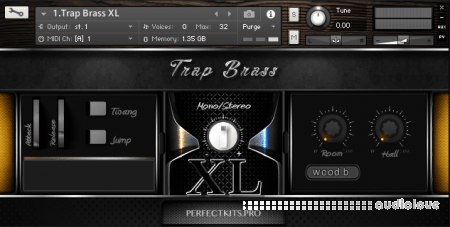 Perfect Kits Trap Brass XL KONTAKT