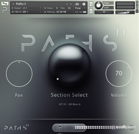 Audiomodern PATHS II KONTAKT