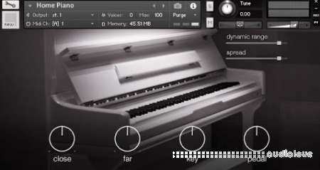 Logan Stahley Instruments Home Piano KONTAKT