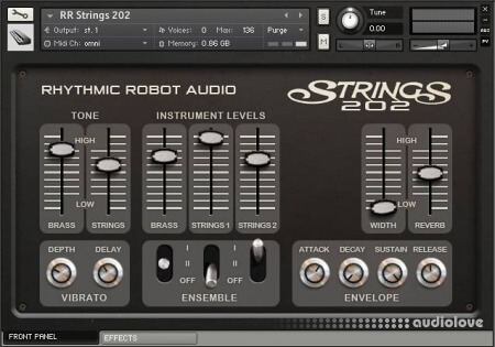 Rhythmic Robot Audio Strings 202 KONTAKT