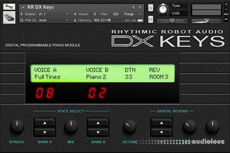 Rhythmic Robot Audio DX Keys KONTAKT