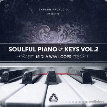 CAPSUN ProAudio Soulful Piano and Keys Vol.2 WAV MiDi