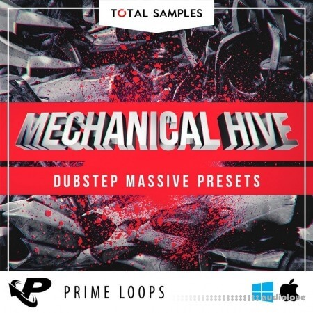 Total Samples Mechanical Hive Dubstep Massive Presets Synth Presets