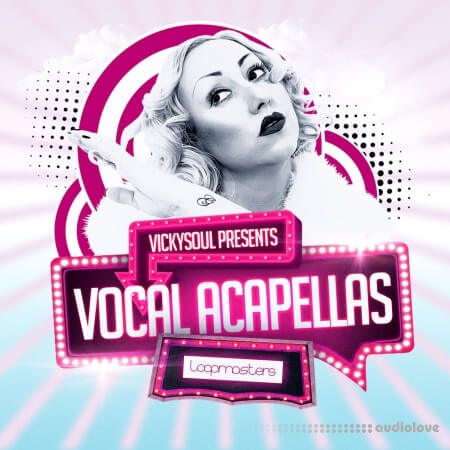 Loopmasters Vickysoul Vocal Acapellas