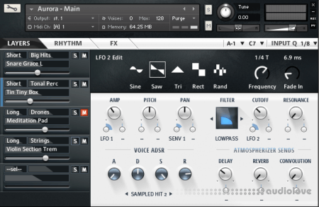 Fluffy Audio AURORA v.1.2 + FREE EXPANSION KONTAKT