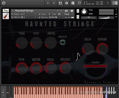 Insanity Samples Haunted Strings KONTAKT