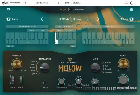 UJAM Virtual Bassist MELLOW