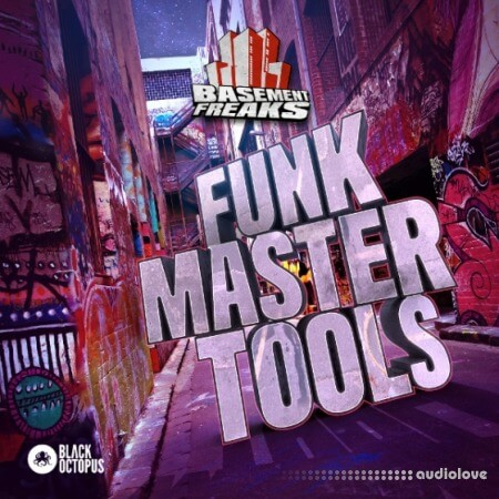 Black Octopus Sound Funk Master Tools By Basement Freaks WAV Battery