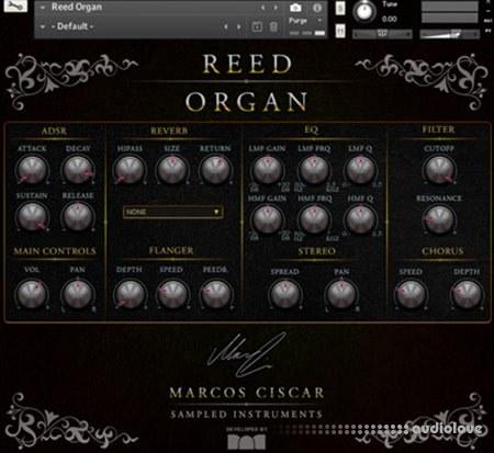 Marcos Ciscar Reed Organ KONTAKT