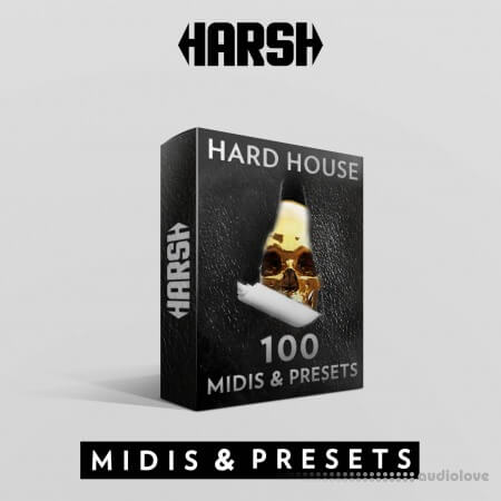 HARSH Hard House 100 Sylenth 1 Presets & Midis WAV MiDi Synth Presets
