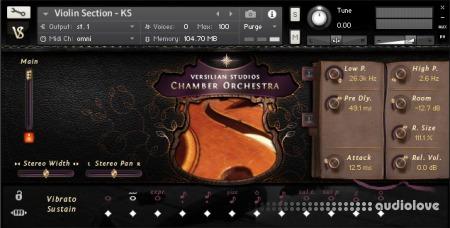Versilian Studios Chamber Orchestra 2 Standard Edition KONTAKT