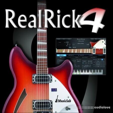 MusicLab RealRick v4.0.1.7387 MacOSX