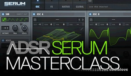ADSR Sounds Serum Masterclass TUTORiAL