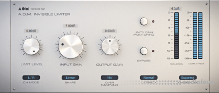 AOM Factory Invisible Limiter v1.5.4 / v1.5.3 WiN MacOSX