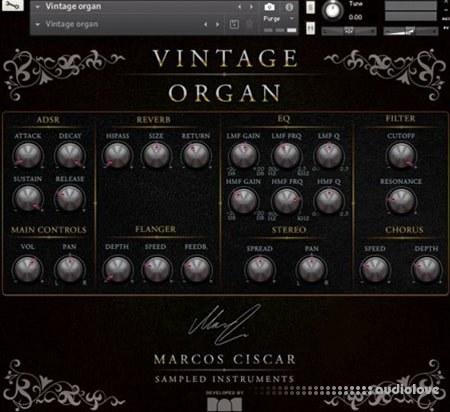 Marcos Ciscar Vintage Organ KONTAKT