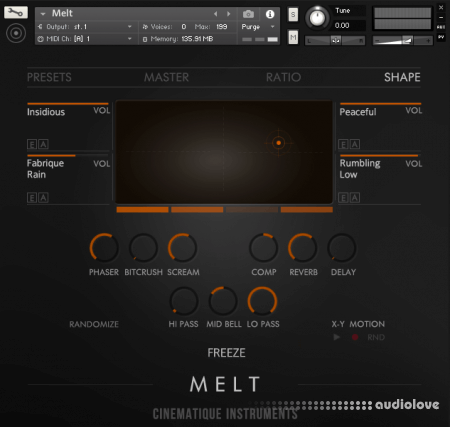 Cinematique Instruments Melt KONTAKT