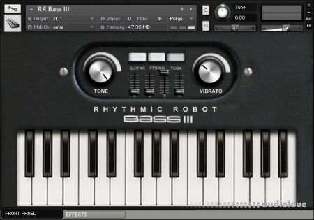 Rhythmic Robot Audio Bass 3 KONTAKT