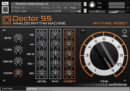 Rhythmic Robot Audio Doctor 55 KONTAKT