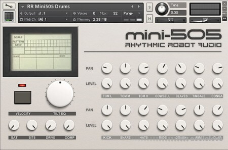 Rhythmic Robot Audio Mini-505 KONTAKT